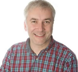 Radio Presenter Dominic Cotter