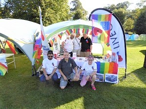 Photo of the Royal British Legion - Gloucester City Branch - at the Pride in the Park event held on 14/09/19